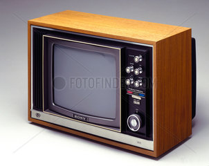 Sony colour television  1970.