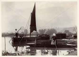 'The Ferry'  1890.