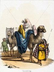 'Travelling'  c 1845.