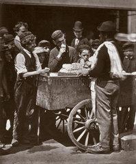 'Halfpenny Ices'  1877.