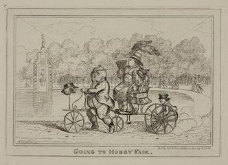 'Going to Hobby Fair'  1835.