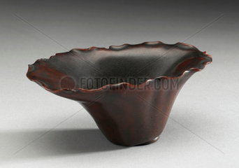 Rhinoceros horn cup  China  17th century.