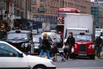Traffic in London  1997.