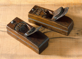 Two moulding planes  European  18th century.