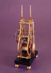 Skeleton clock  1972.