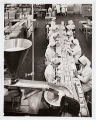 'The New Milk of Magnesia Tablets Foil Pack Assembly Line'  1966.