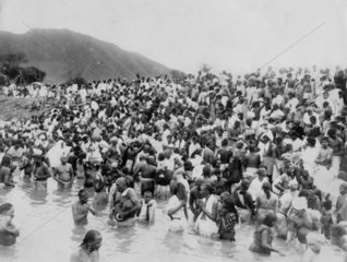 Kistna Pushkaram Festival at Andhra Province  28 August 1933.