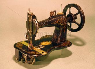 Remington Arms lock-stitch sewing machine  'Empire' model  1870.