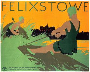 'Felixstowe'  LNER poster  1923-1947.
