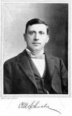 Charles M Schwab  President of the Carnegie Steel Company  c 1890.