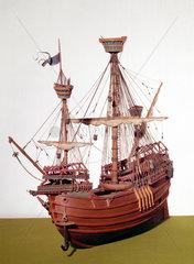 Flemish carrack  c 1490.