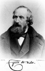 Cyrus W Field  American financier and entrepreneur  c 1885.