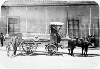 'Petrol Wagon'  Mexico City  Mexico  c 1915.