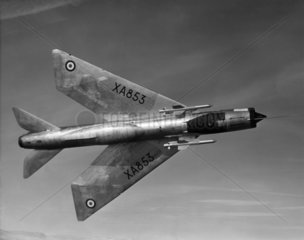 English Electric P1 Lightning  c 1960s.