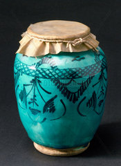 Drug jar  possibly Persian.
