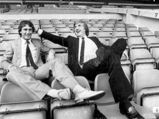 John Bond signs Trevor Francis for Manchester City  September 1981.