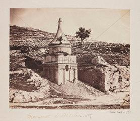 'Monument d'Absalom'  1857.