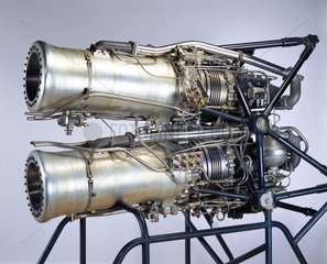 De Havilland Double Spectre rocket engine  c 1959.