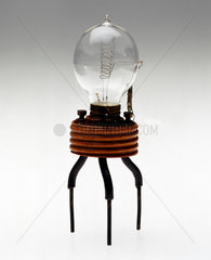 Fleming's original thermionic valve  1889.