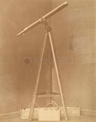 Portable stand and telescope  St Petersburg  Russia  1876.