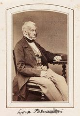 'Lord Palmerston'  c 1860.