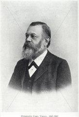 Hermann Carl Vogel  German astronomer  c 1890s.