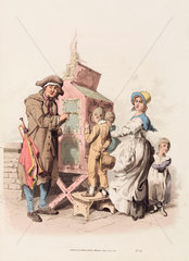'Half penny showman'  1808.