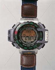 Casio digital quartz wristwatch  model PRT-40E  1998.