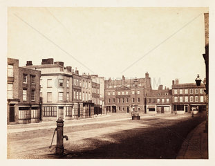 'Wisbech: Market Place'  1857