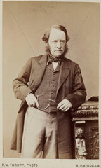 Lyon Playfair  Baron St Andrews  Scottish chemist and politician  c 1870.