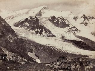 Stein Glacier  Susten Pass  Switzerland  c 1850-1900.