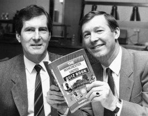 Martin Edwards and Alex Ferguson  1987.