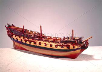 60-gun ship  c 1719-1745.