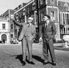Ian Smith  Prime Minister of Rhodesia  and Lord Salisbury  11 October 1965.