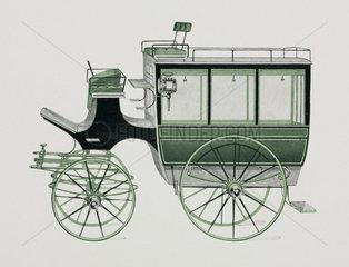 Hotel or private omnibus  1906.