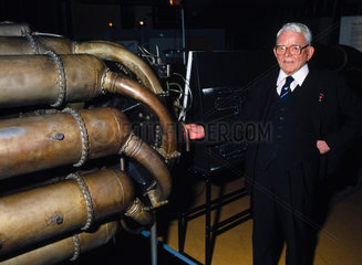 Sir Frank Whittle  English engineer  1988.