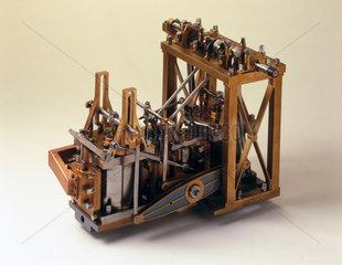 Side-lever engine  c 1845.
