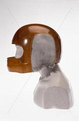 Racing driver's helmet  1984.