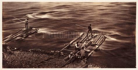 'Sault Recollet Ottawa River'  1860.