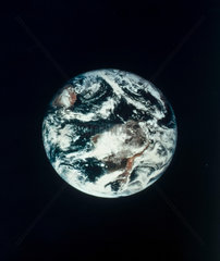 The Earth from space  1967.