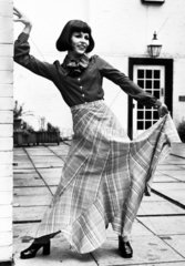 Maxi skirt  June 1972.