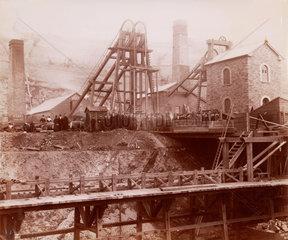 Partridge Jones & Co  Ponsy Pool  Monmouth  Wales  1880-1895.