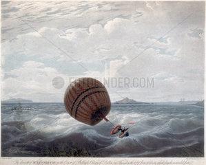 The descent of Mr Livingston  1822.