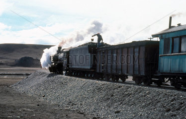 2-10-2 steam locomotive No 116 of the RFIRT