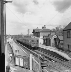 Liss Station in Hampshire  1939. 'Southern
