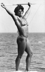 Fatima Whitbread  1984.