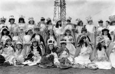 Sittingbourne May Queen Festival  Kent  1968.