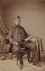 John Ralfs  British botanist  1862.