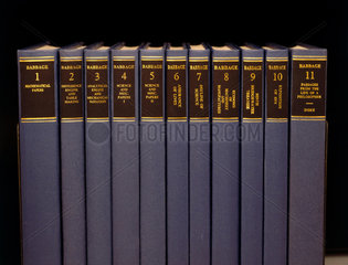Books written by Charles Babbage  English computing pioneer.