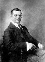Charles Urban  American documentary film pioneer  c 1911.